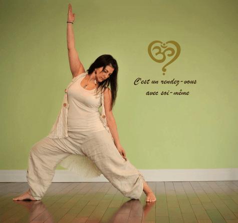 Pendant le yoga