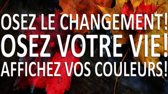 Osez le changement!