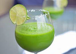 Smoothie vert lime