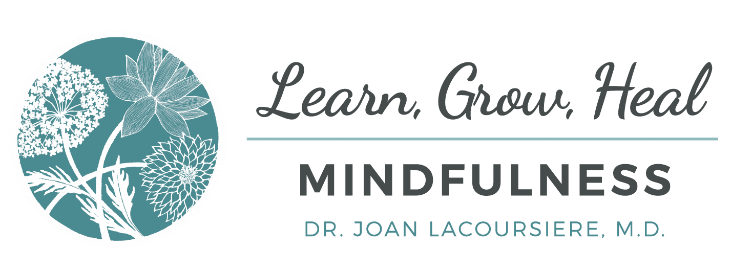 Learn Grow Heal Mindfulness Horizontal Logo