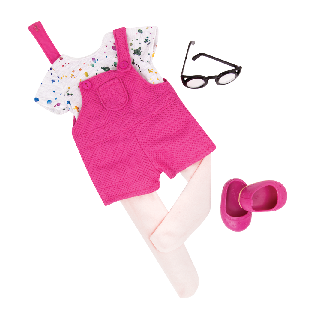 Splash of Fun Outfit for 18-inch dolls