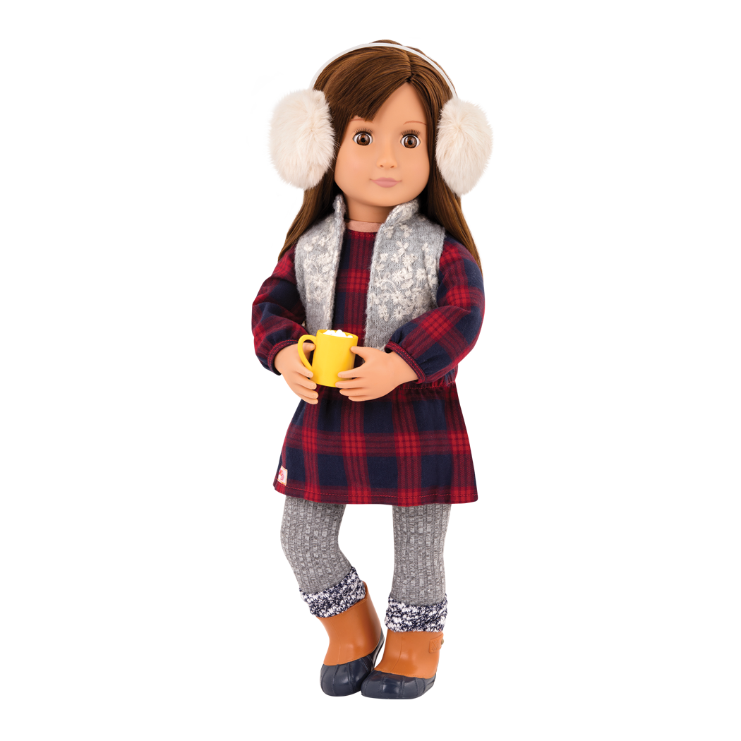 Cocoa Cozy Winter Outfit Reese Cocoa Mug
