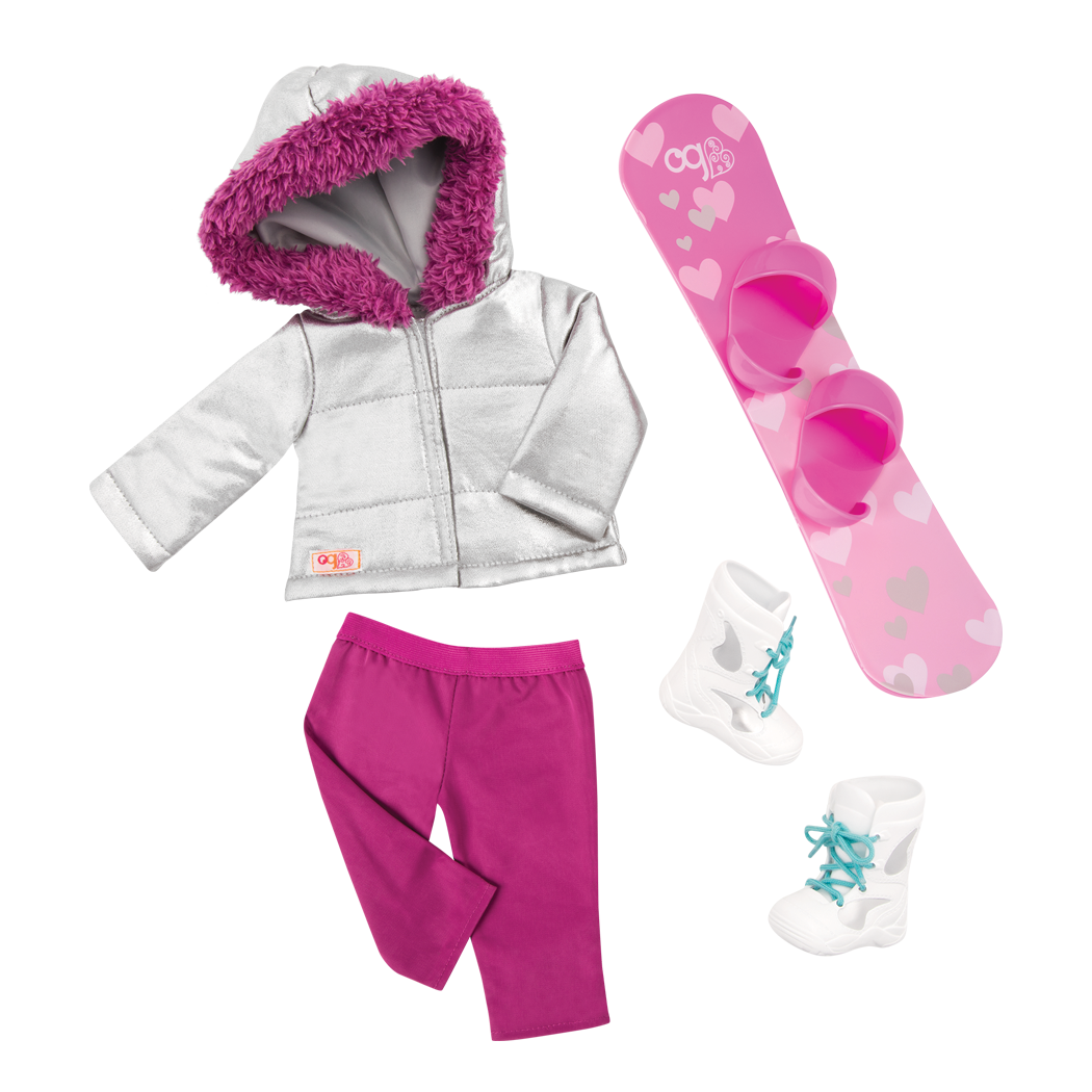 Chill on the Hill Snowboard Outfit Main