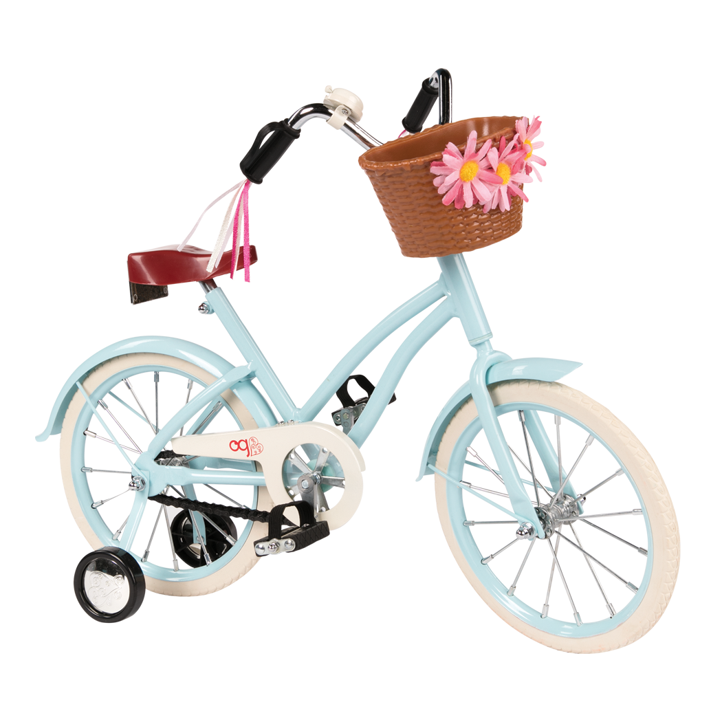 Anywhere You Cruise Bicycle for 18-inch Dolls