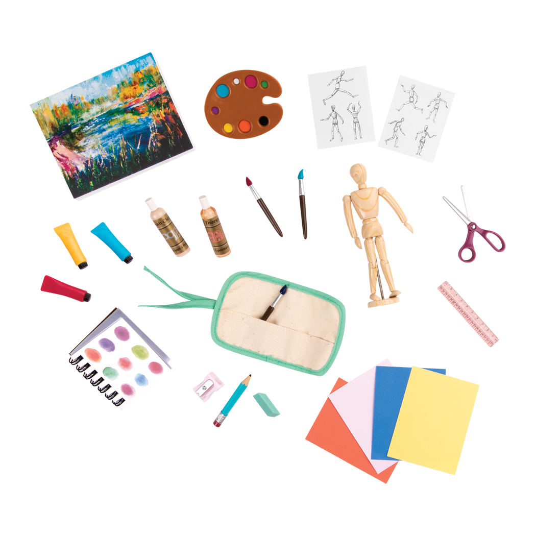 Art Class Accessory Set Main