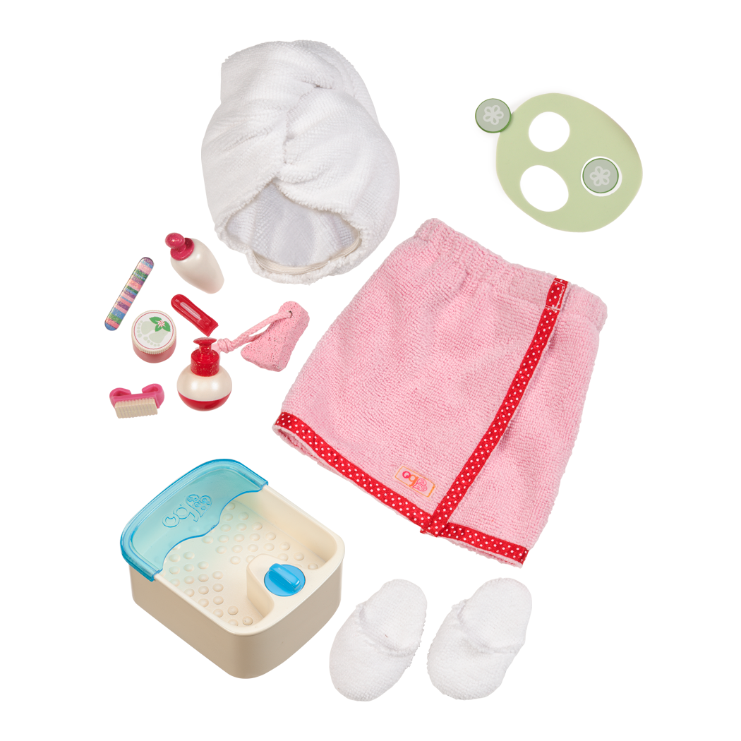 Spaaaah Day doll Spa Set Main