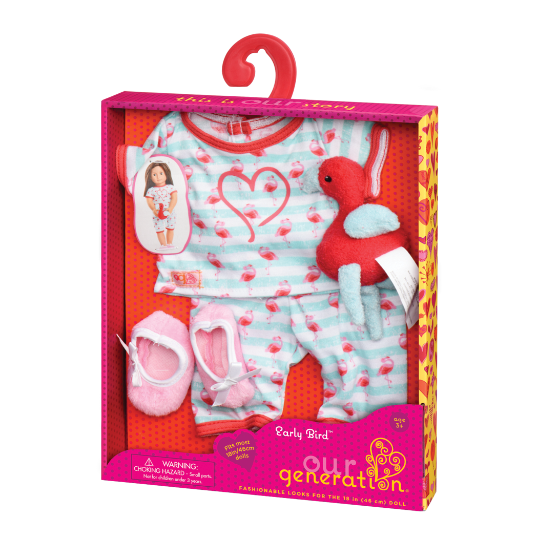 Early Bird Pajama Outfit package