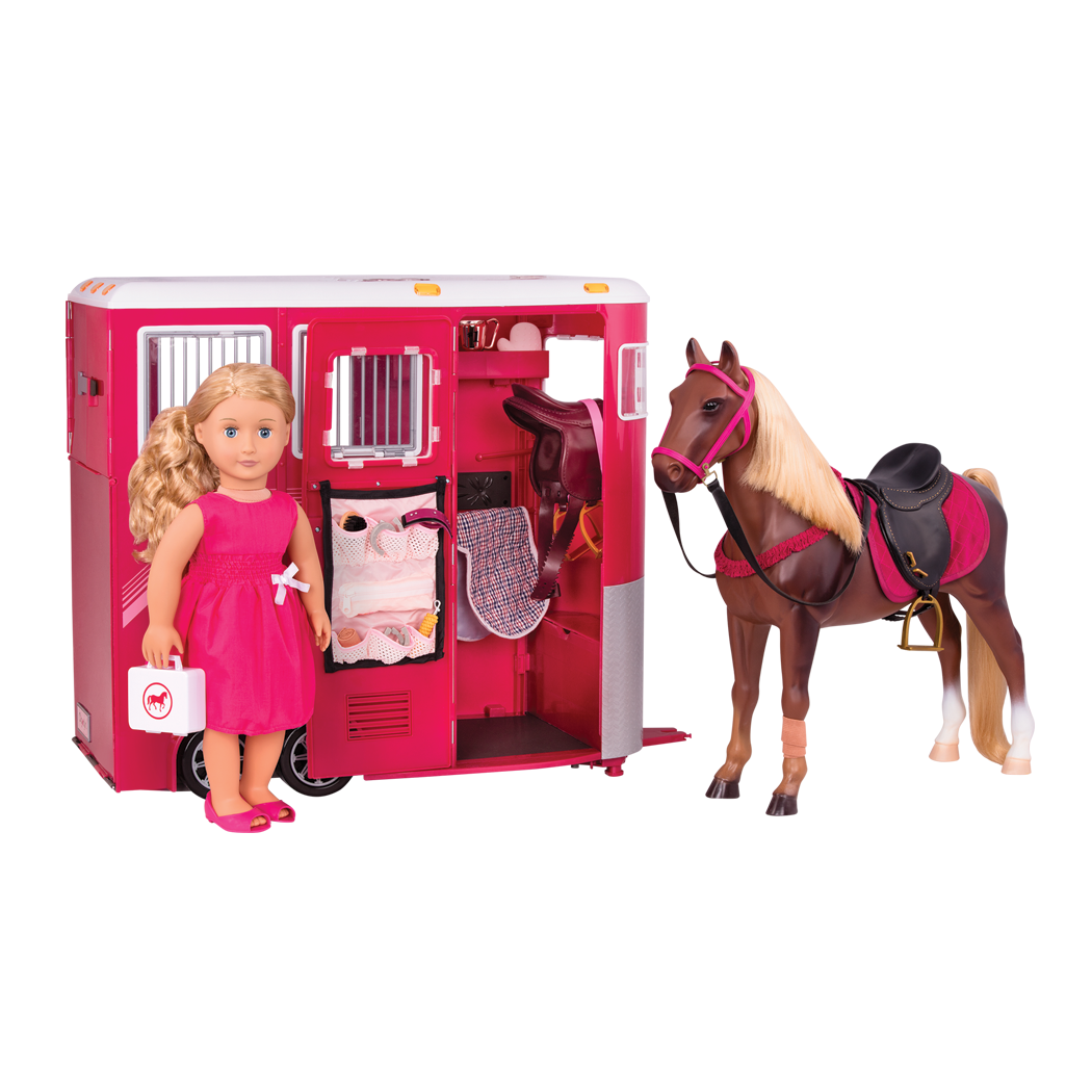 Lily Anna Dress Horse Trailer