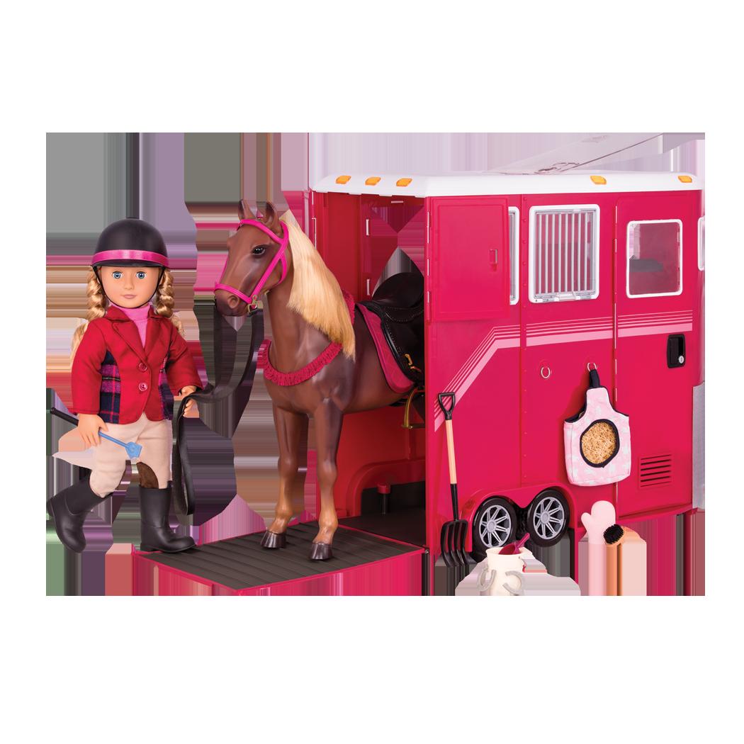 Lily Anna Horse Trailer