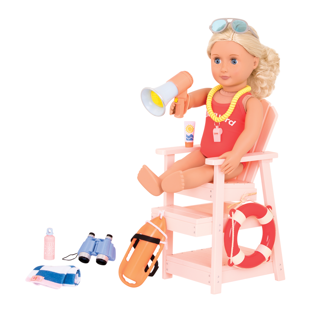 Clarissa in Lifeguard Playset