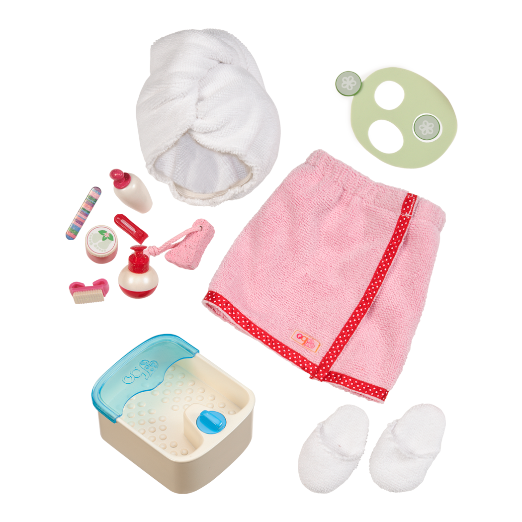 Spa Accessory Set for 18inch dolls