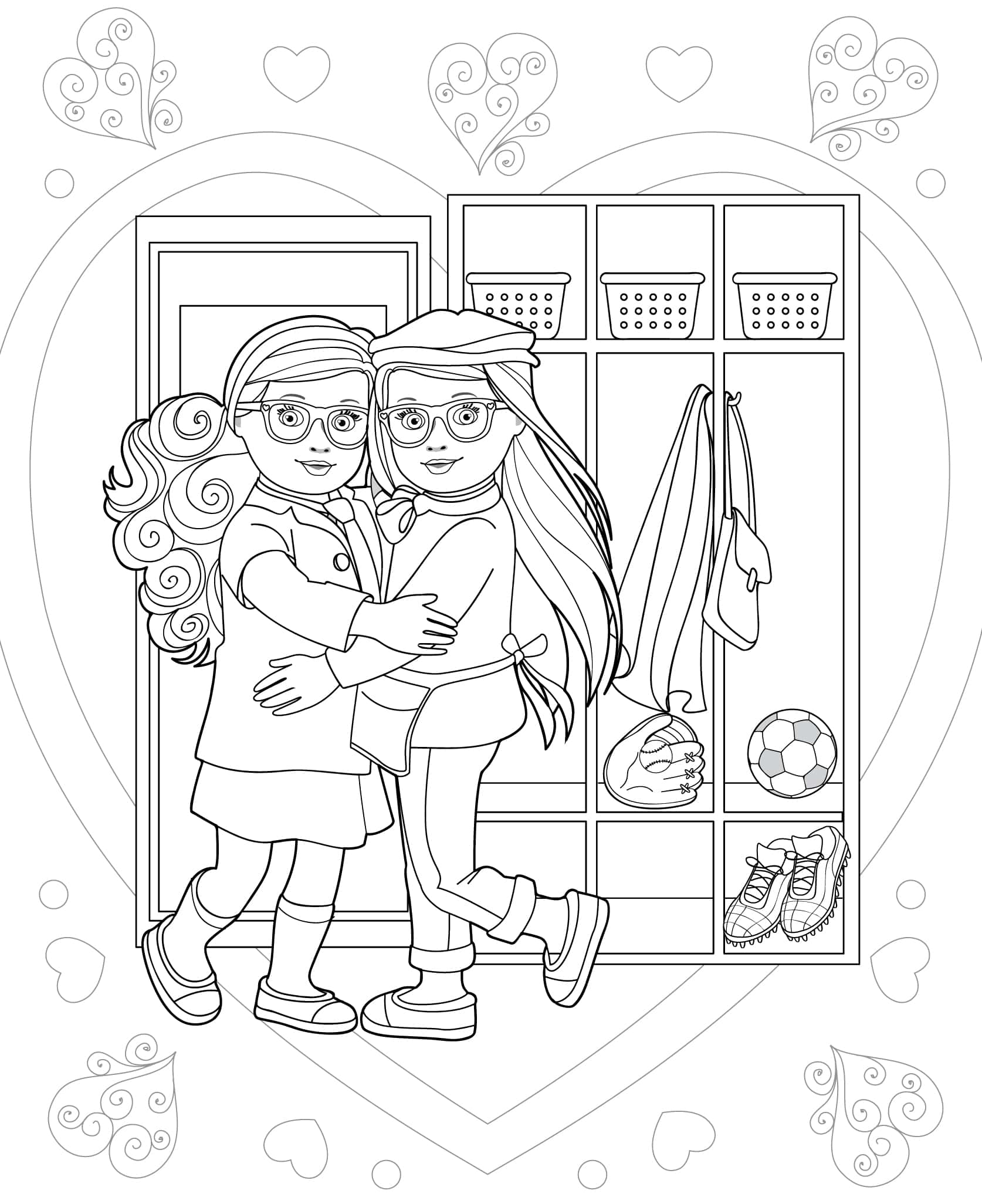 - Doll Coloring Books Our Generation