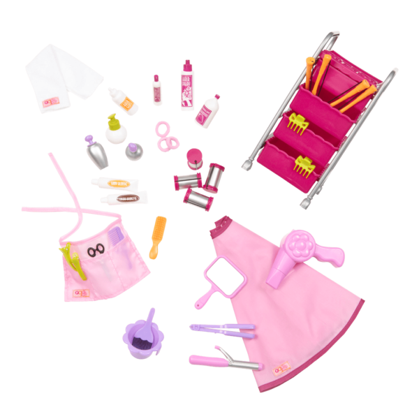Berry Nice Salon Set for 18-inch Dolls