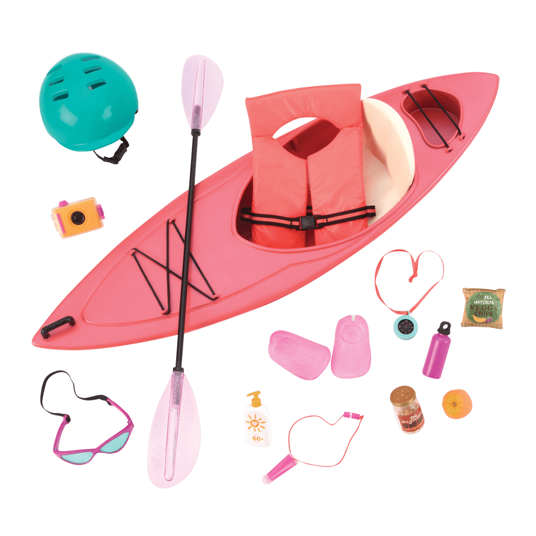 Kayak Adventure Set for 18-inch Dolls