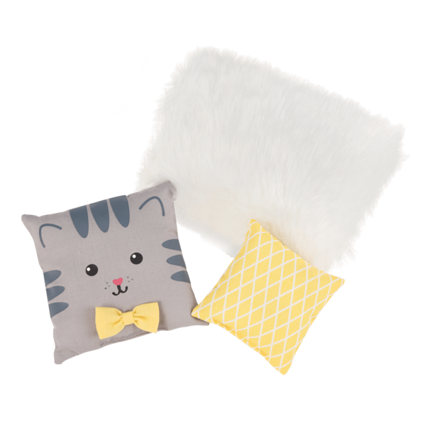 Detail of pillow accessoires