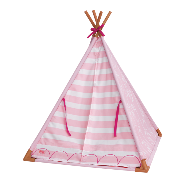 Mini Suite Teepee with front flaps closed