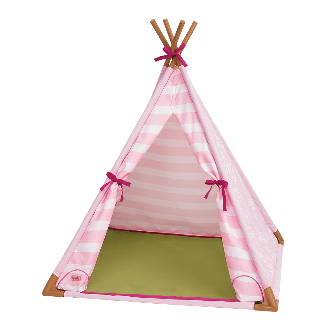 Mini Suite Teepee for 18-inch Dolls