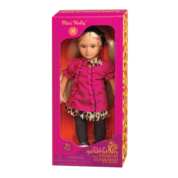 BD33005A Mini Holly 6 inch Doll package