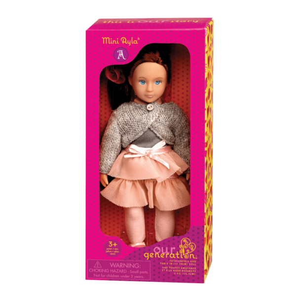 BD33003A Mini Ayla 6 inch Doll package