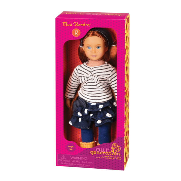 BD33002A Mini Kendra 6 inch Doll package