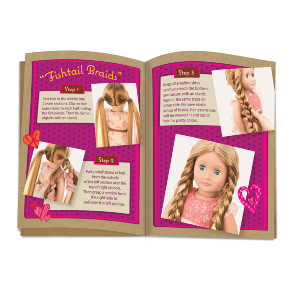 Portia Hairplay Doll18 Inch Doll Long Hair Our Generation