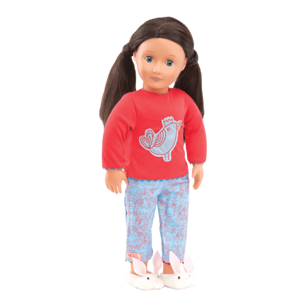 Willow doll wearing outfit