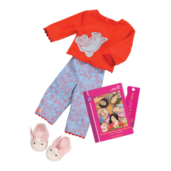 Willow Read & Play - Outfit and Book Set for 18-inch Dolls