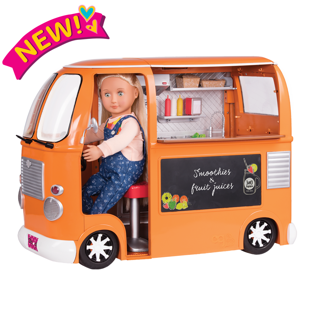 Grill to Go Food Truck Naya doll driving copy