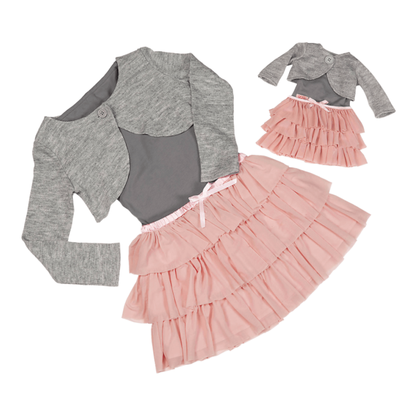 Me and You Tulle Skirt Outfit