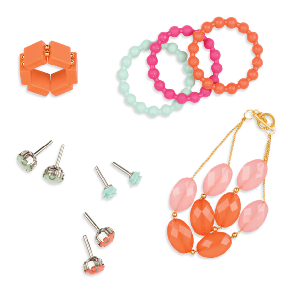 Detail of jewelry accessories