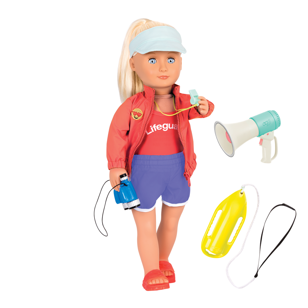 Seabrook 18-inch Lifeguard Doll