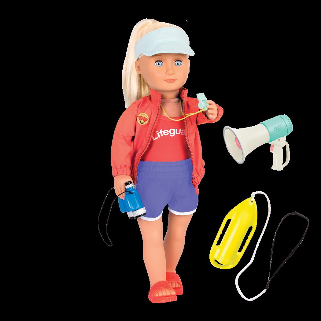 Seabrook 18-inch Lifeguard Doll