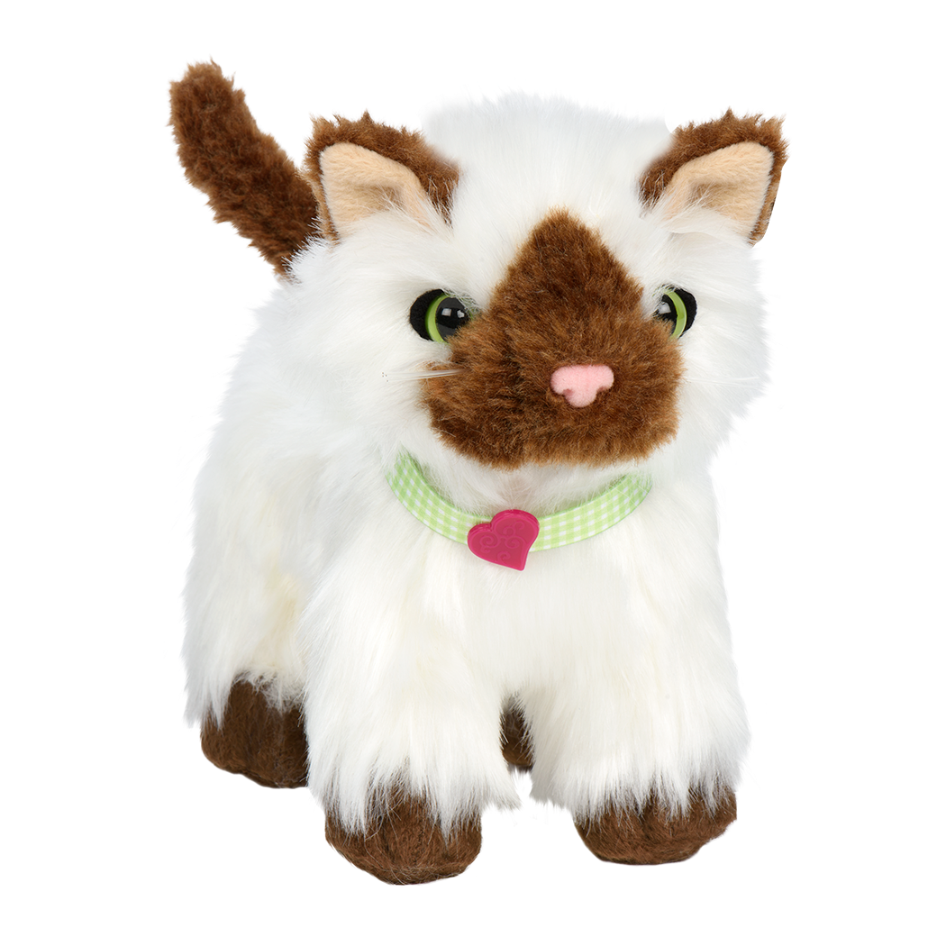 Ragdoll Kitten plush toy for 18inch dolls