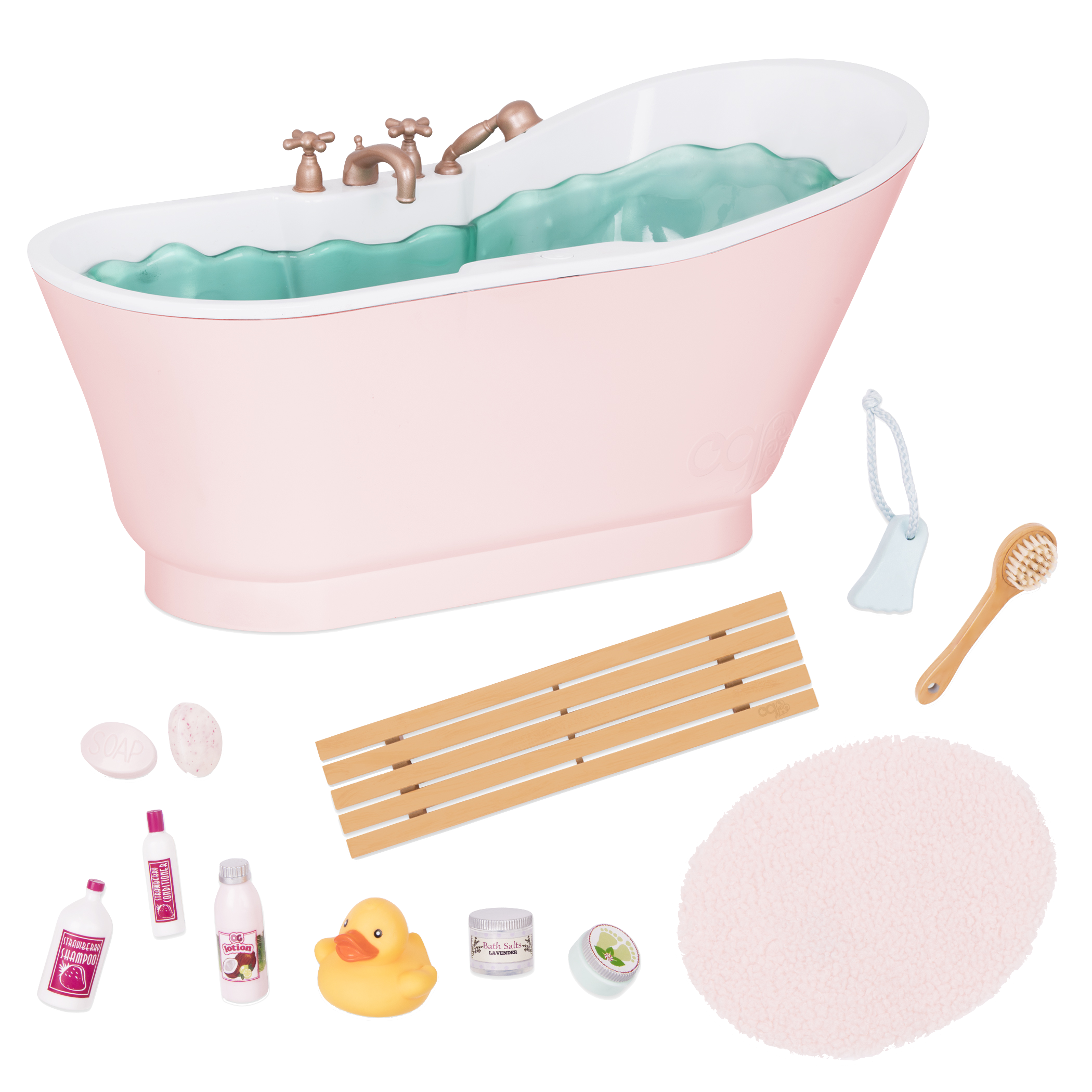 Bath and Bubbles set all items