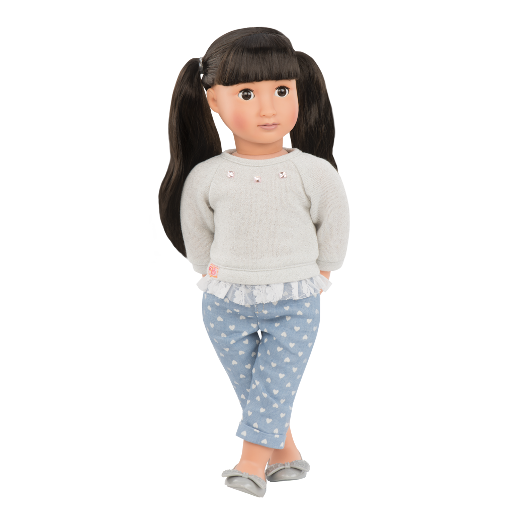 May Lee 18-inch Doll with bangs