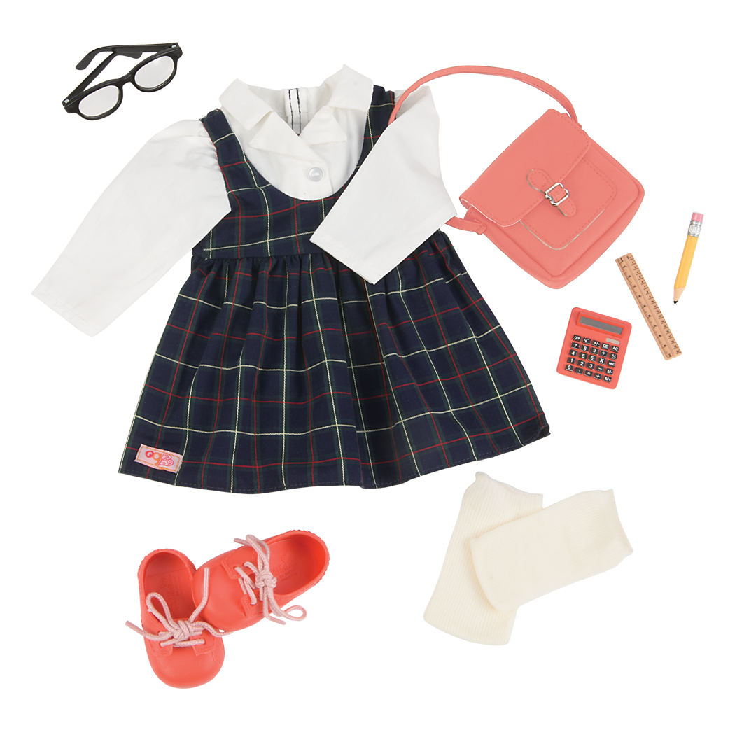 Perfect Score School Uniform Outfit for 18-inch dolls