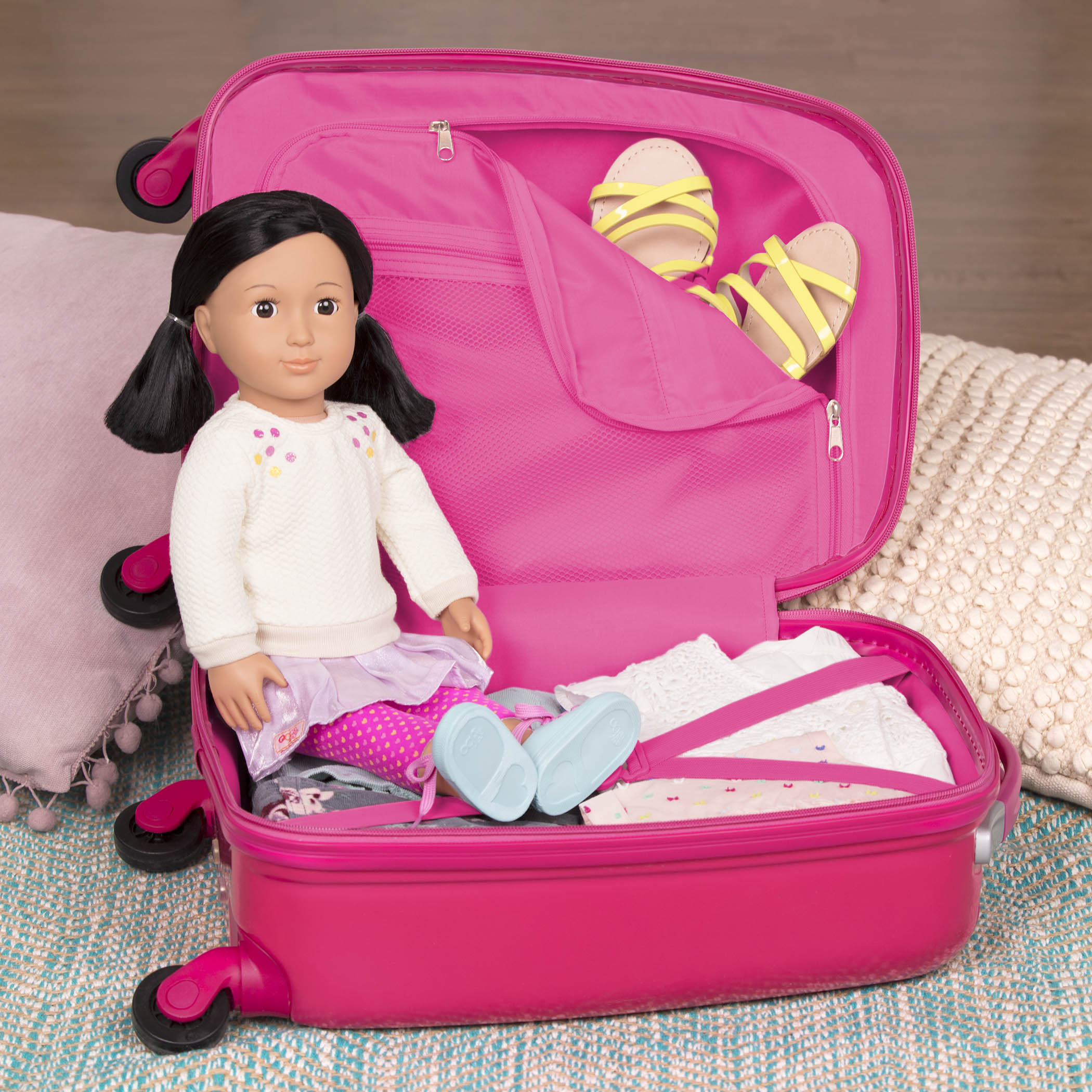 Carry On Dreaming with Suyin doll inside