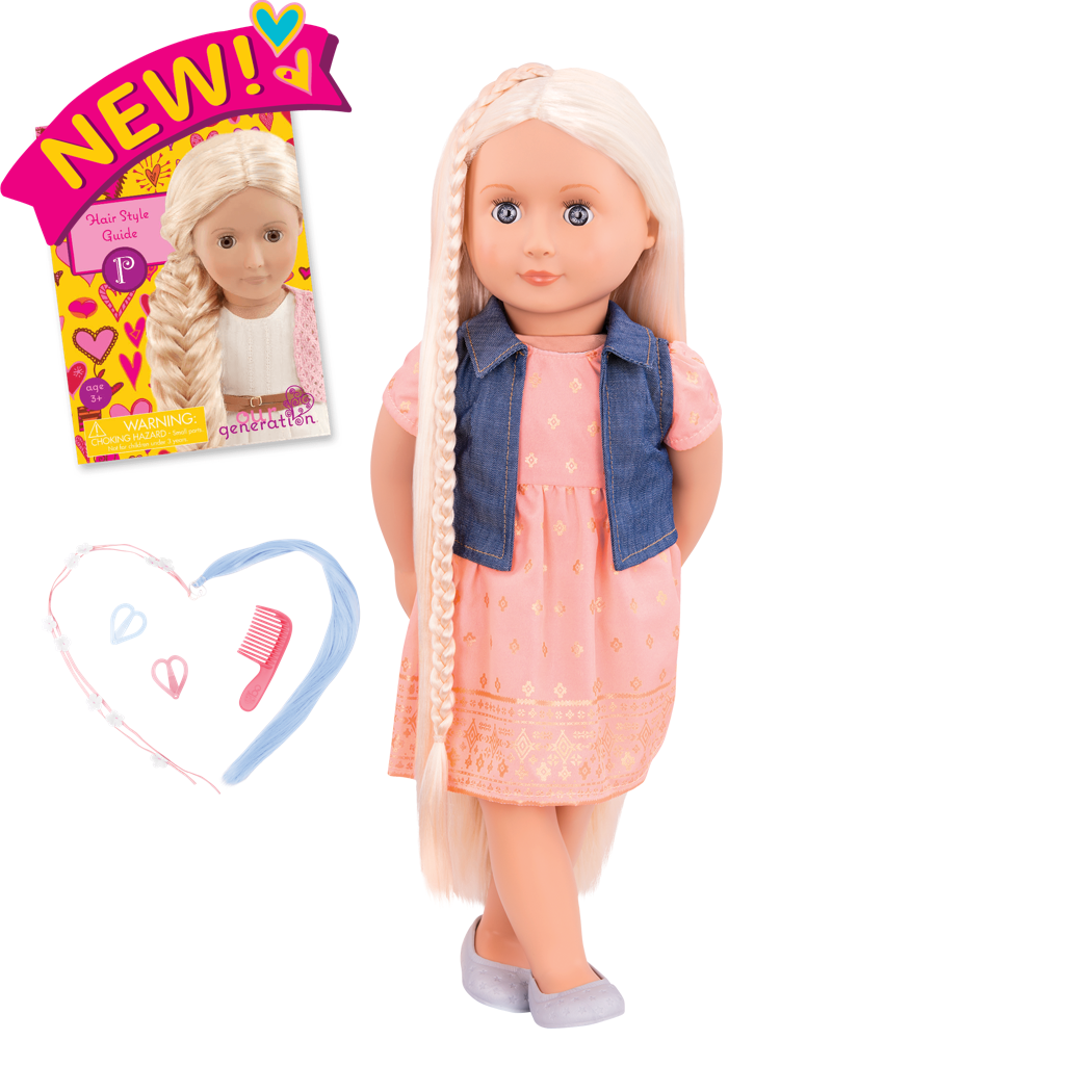 Lyra 18-inch Hairplay Doll