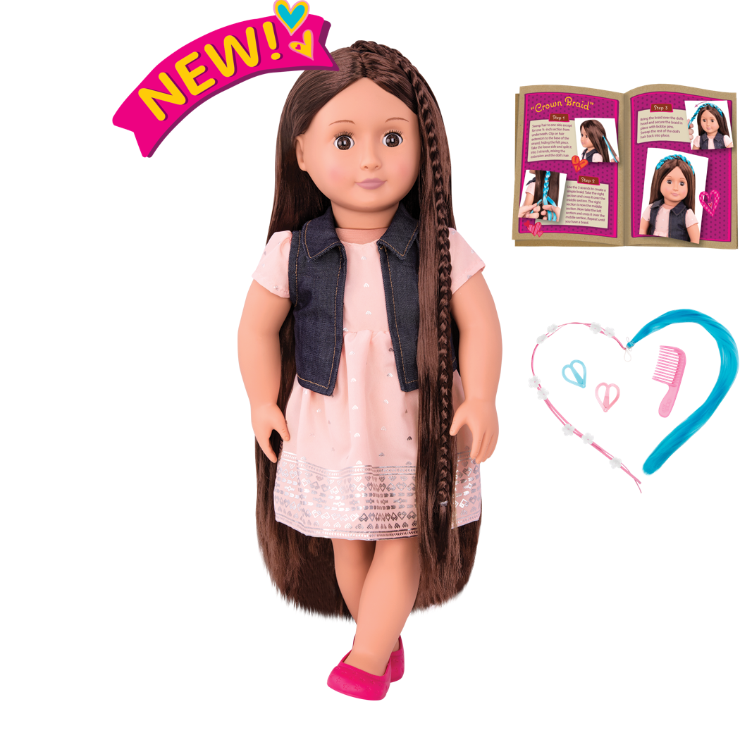 Kaelyn 18-inch Hairplay Doll