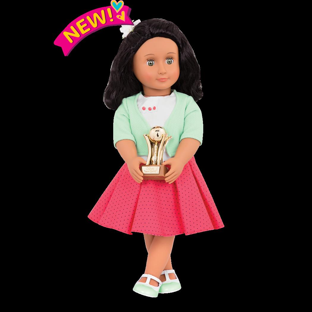 Lirys Retro 18-inch Bowling Doll