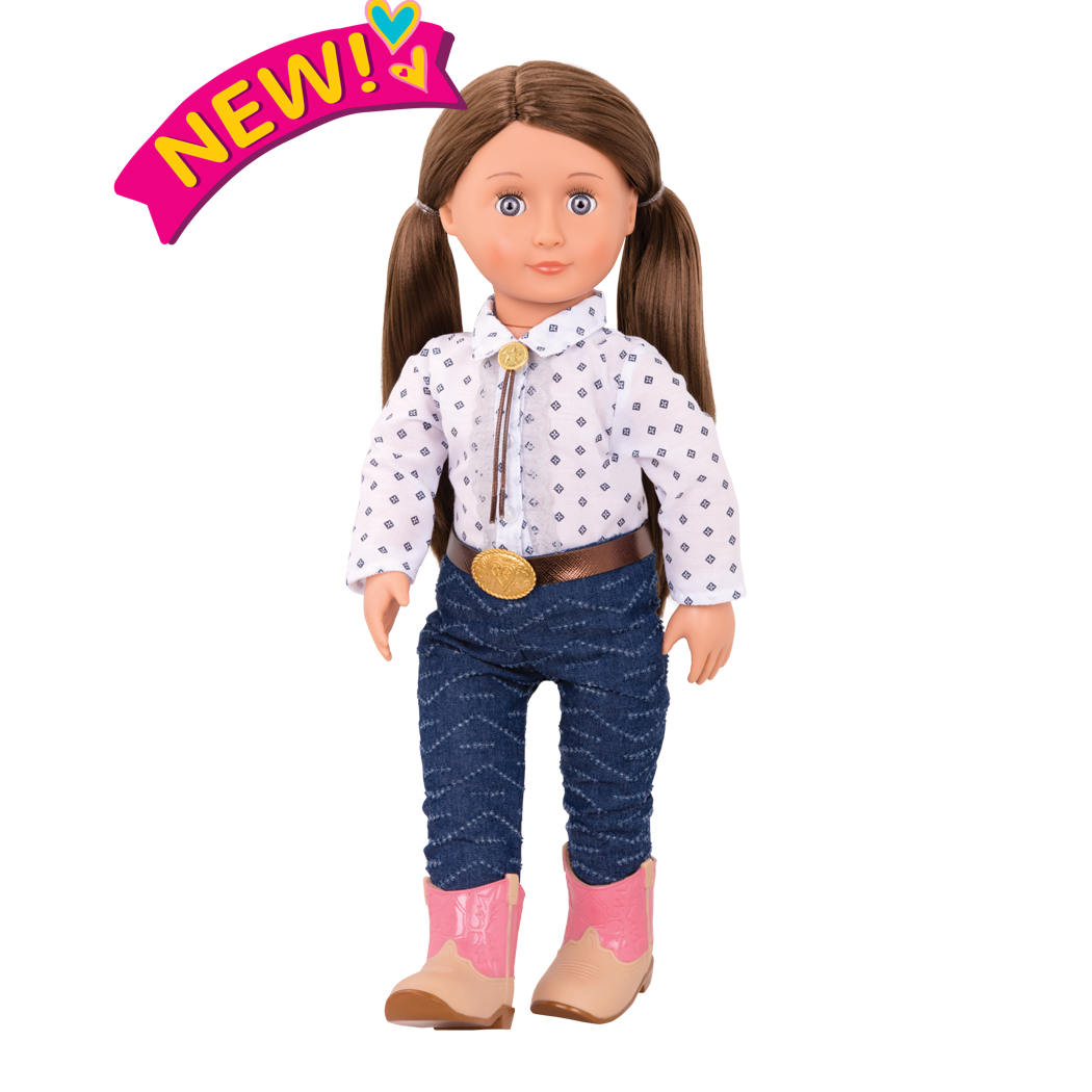 Darcy Lynn 18-inch Riding Doll
