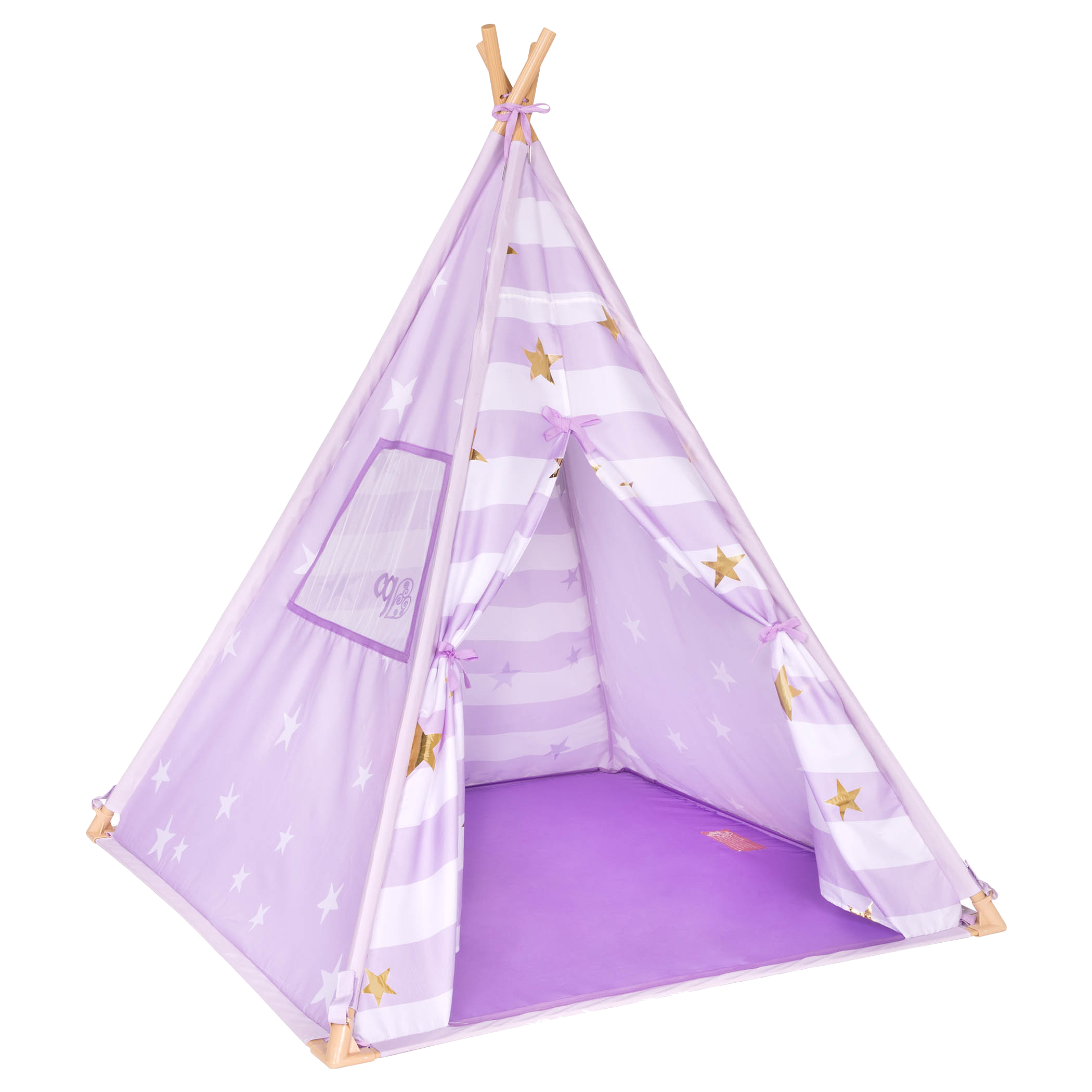 Lilac Suite Teepee for kids and dolls