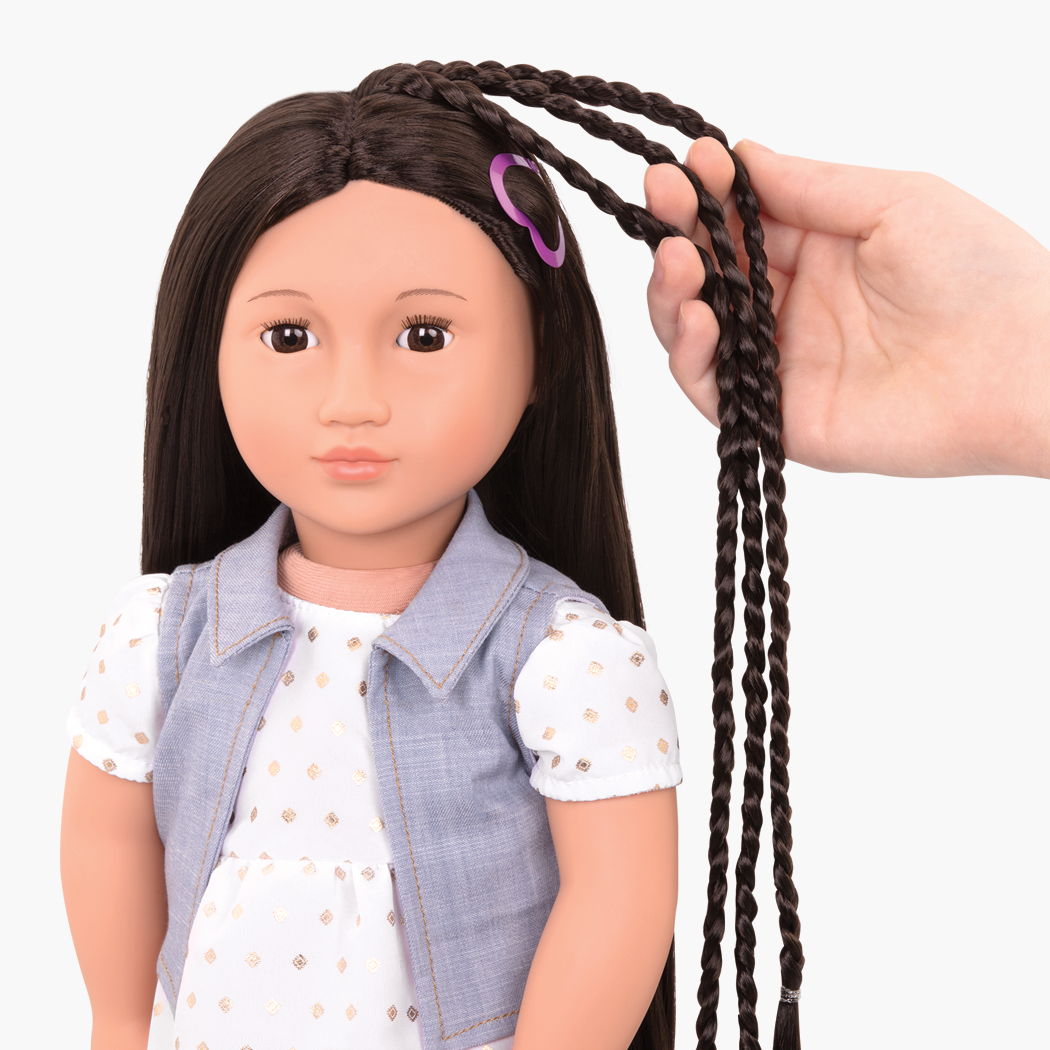 BD31205 Asako Hairplay Doll extension detail01