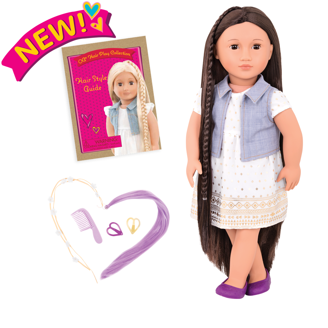 Asako Hairplay 18-inch Doll