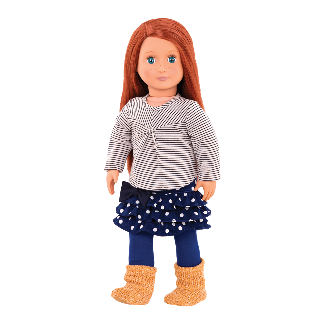 Kendra 18-inch Doll with Red Hair