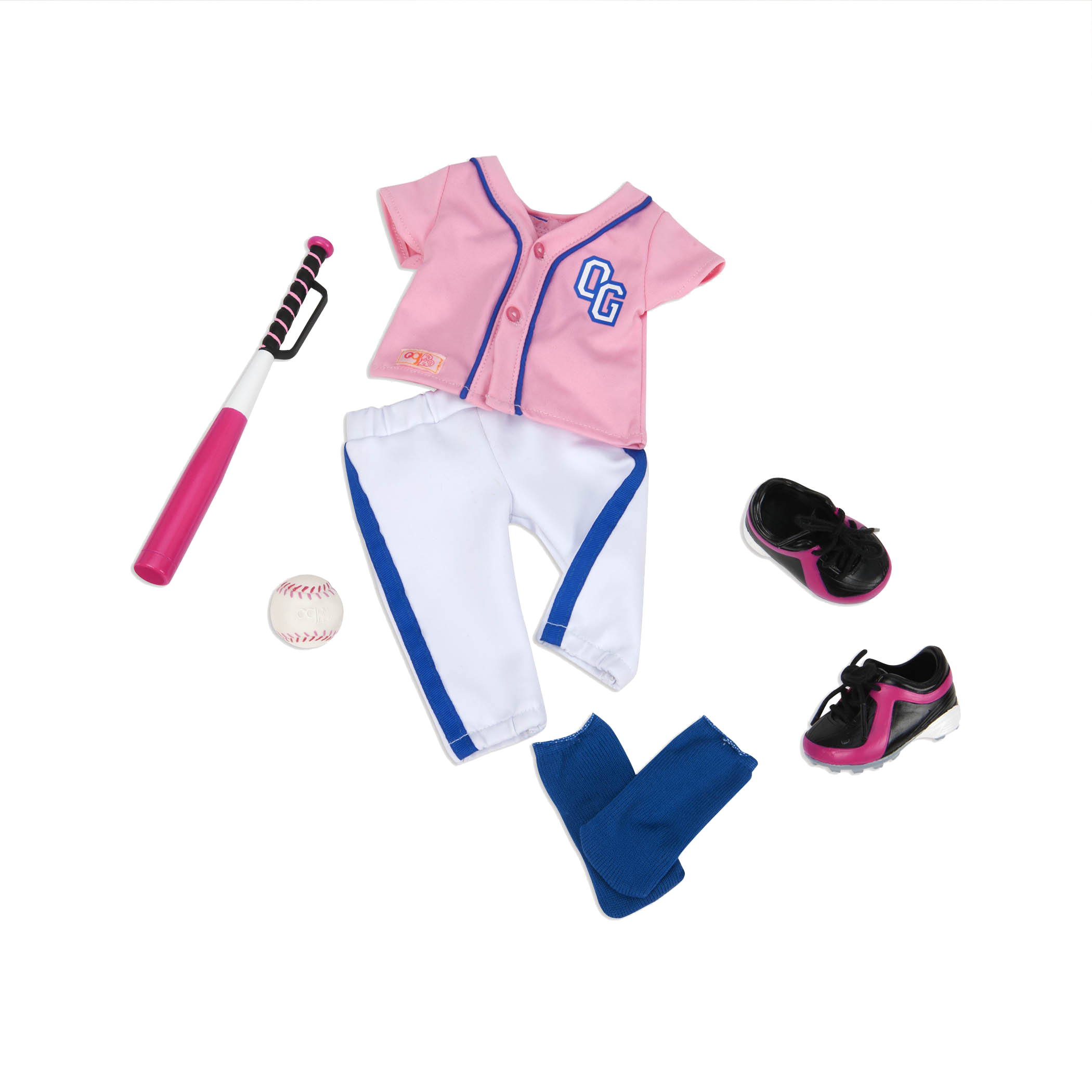 Hit a Homerun Baseball Outfit for 18-inch Dolls