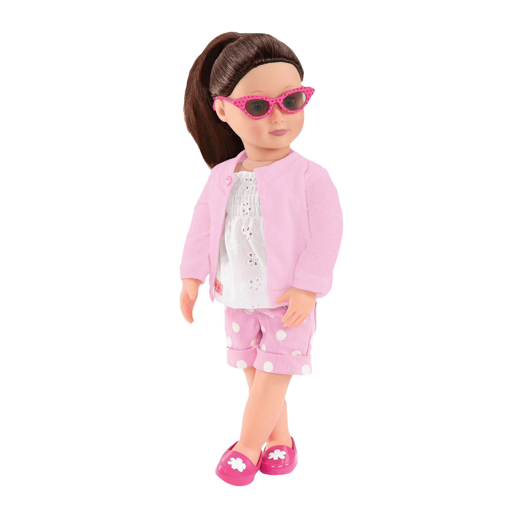 All Eyelets On Me Willow doll wearing outfit