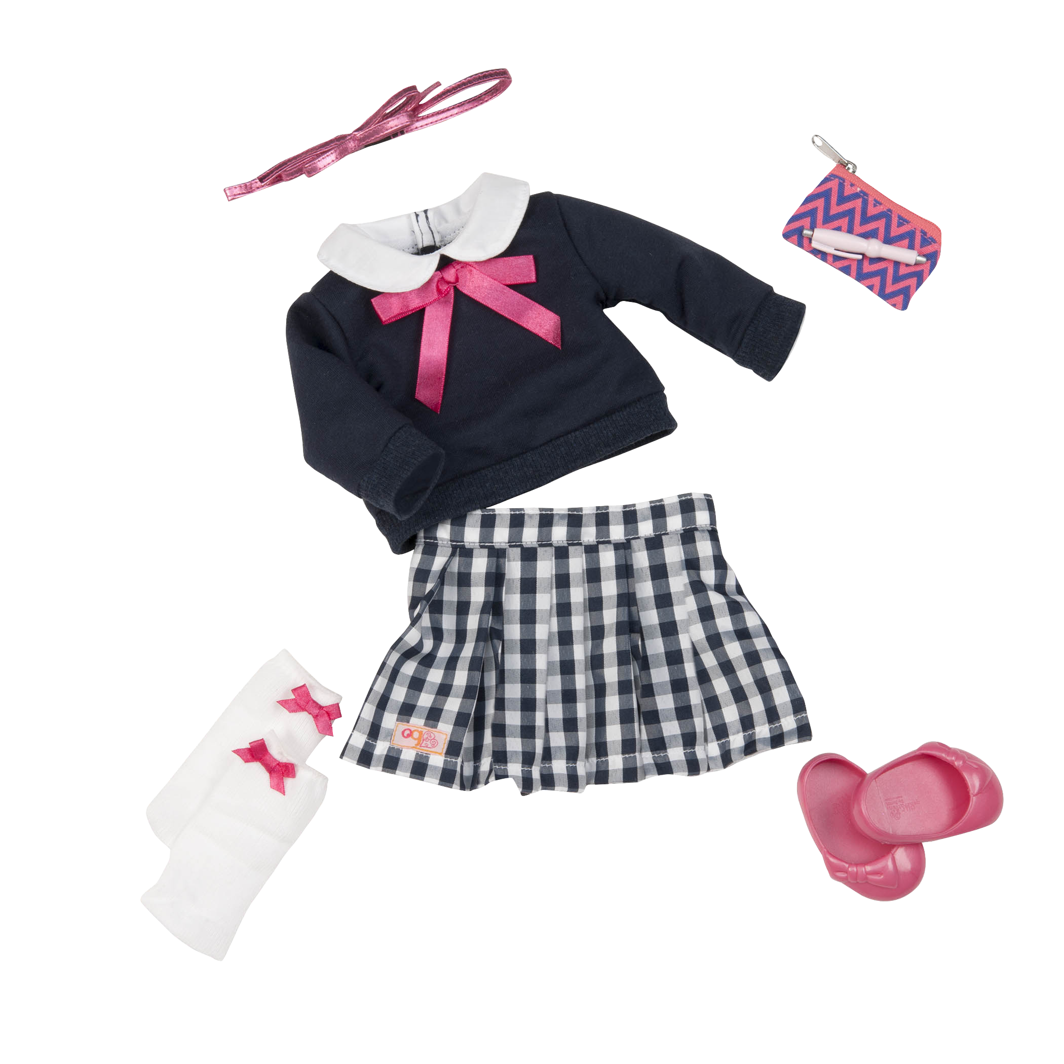 Pretty Preppy Outfit for 18-inch Dolls