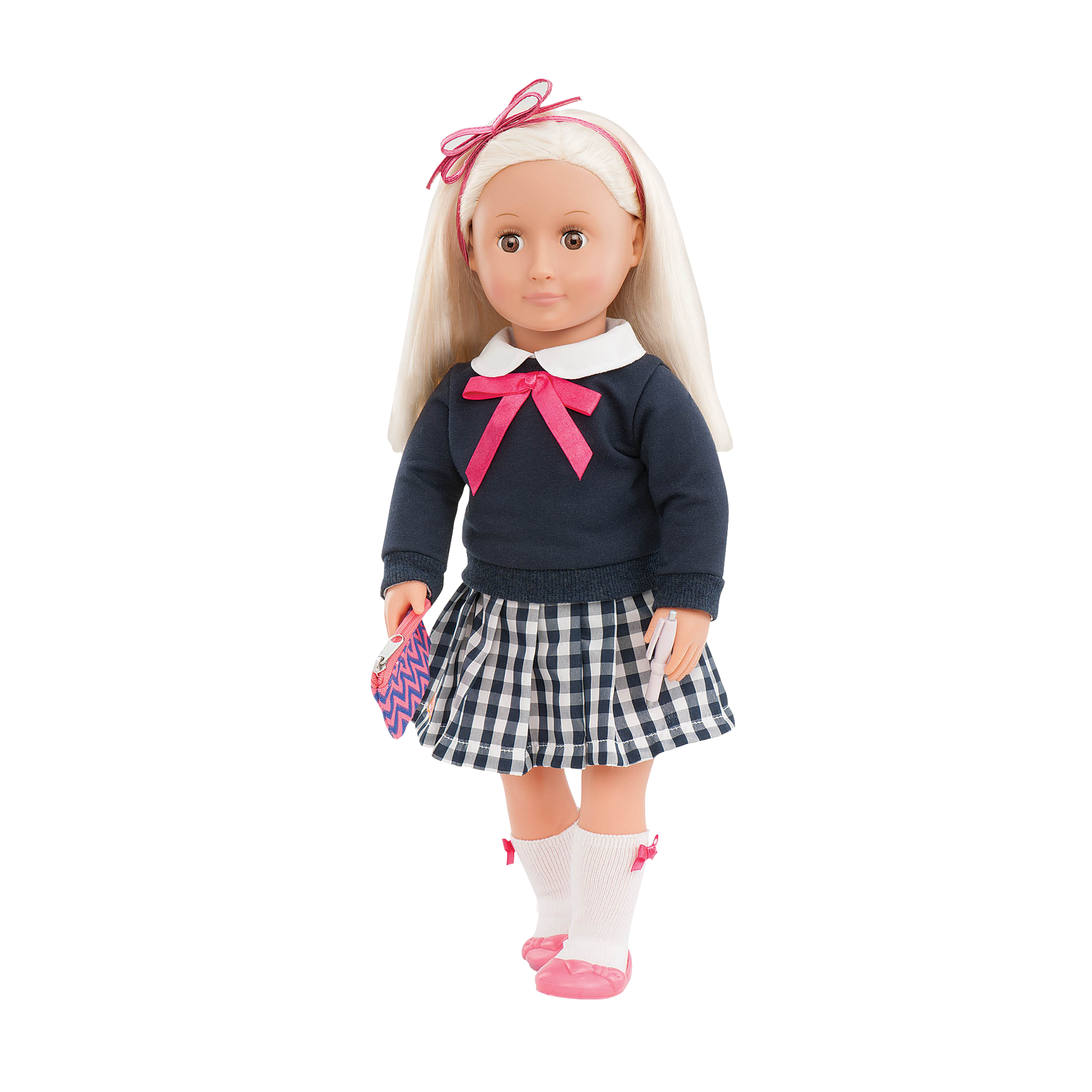 Pretty Preppy Leah doll wearing outfit