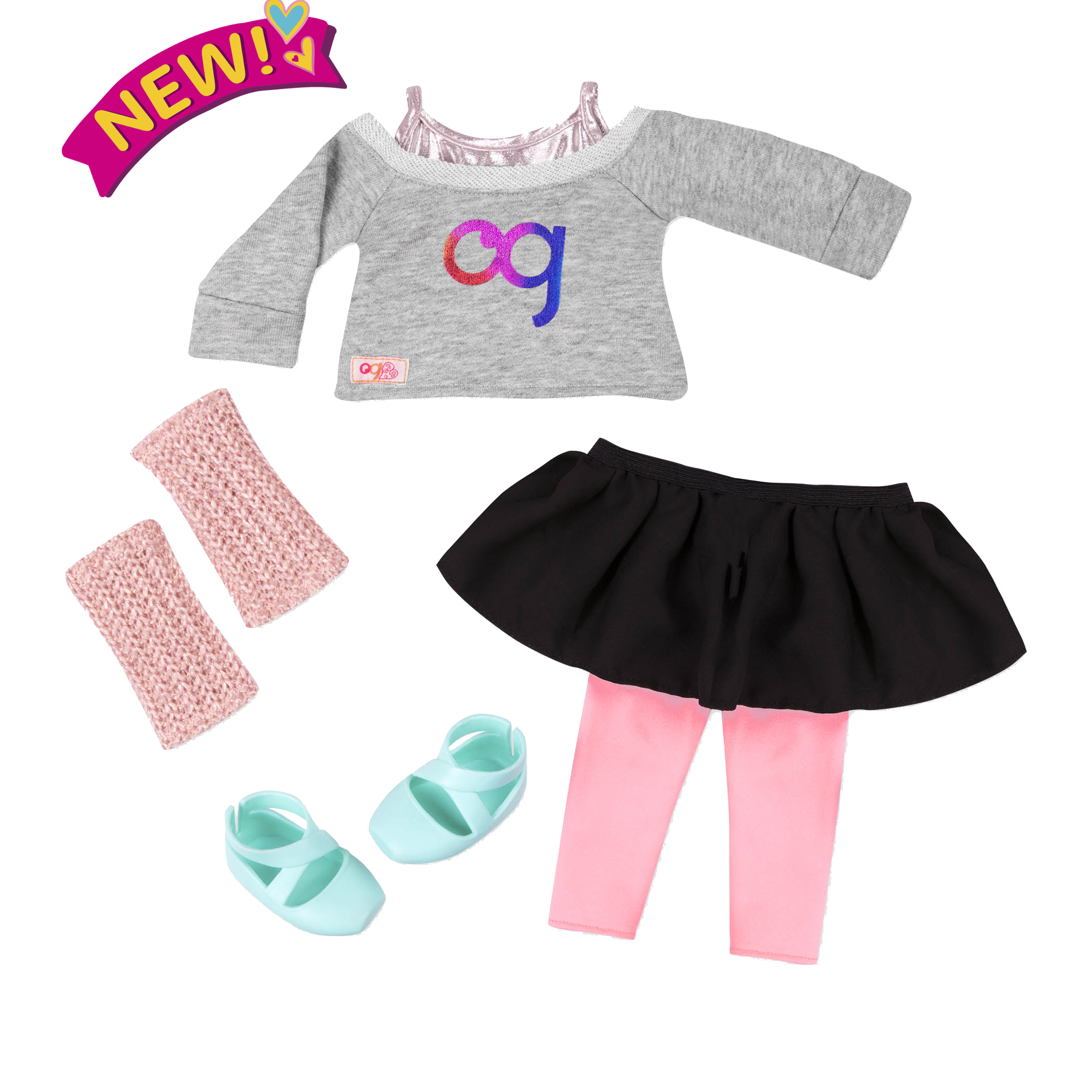 Warm Up Your Step Outfit for 18-inch Dolls